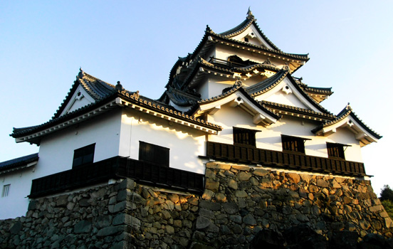 Side-by-side Hikone Castle.jpg